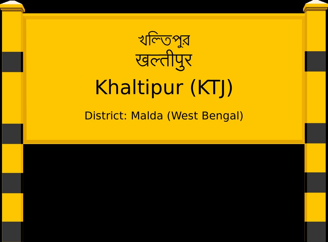 Khaltipur (KTJ) Railway Station