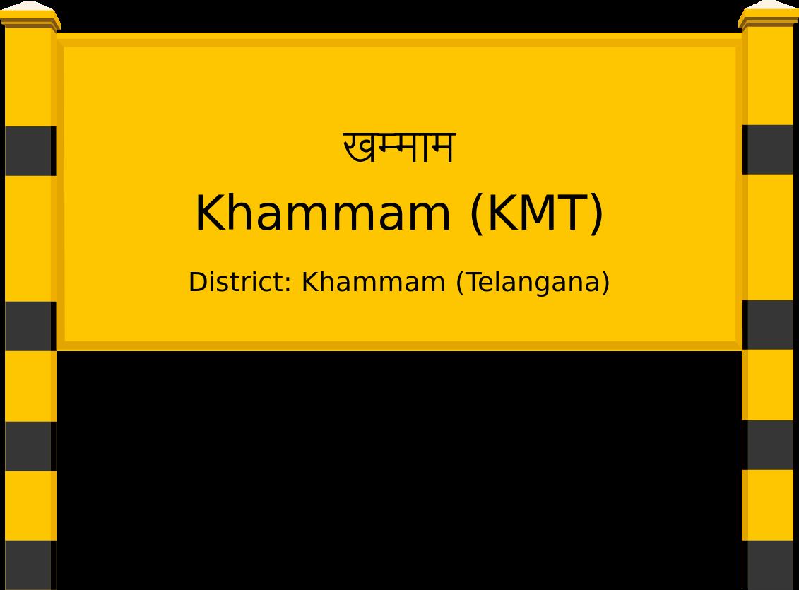 Khammam (KMT) Railway Station
