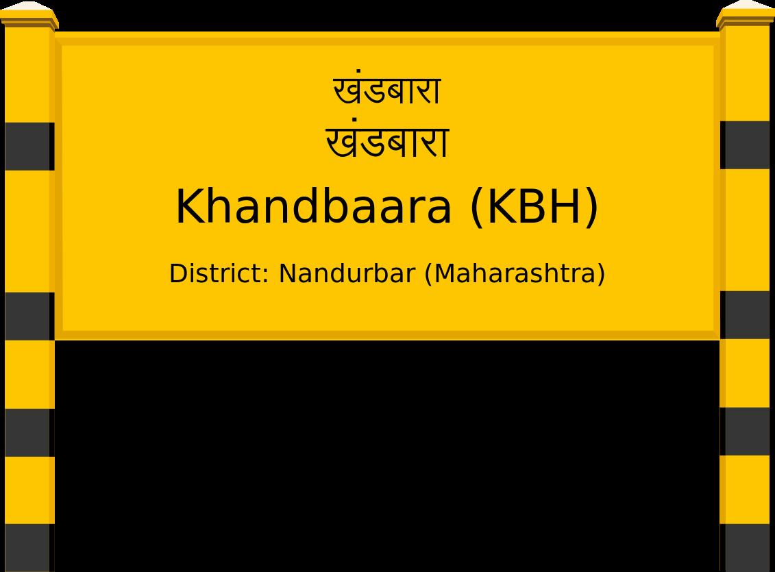 Khandbaara (KBH) Railway Station