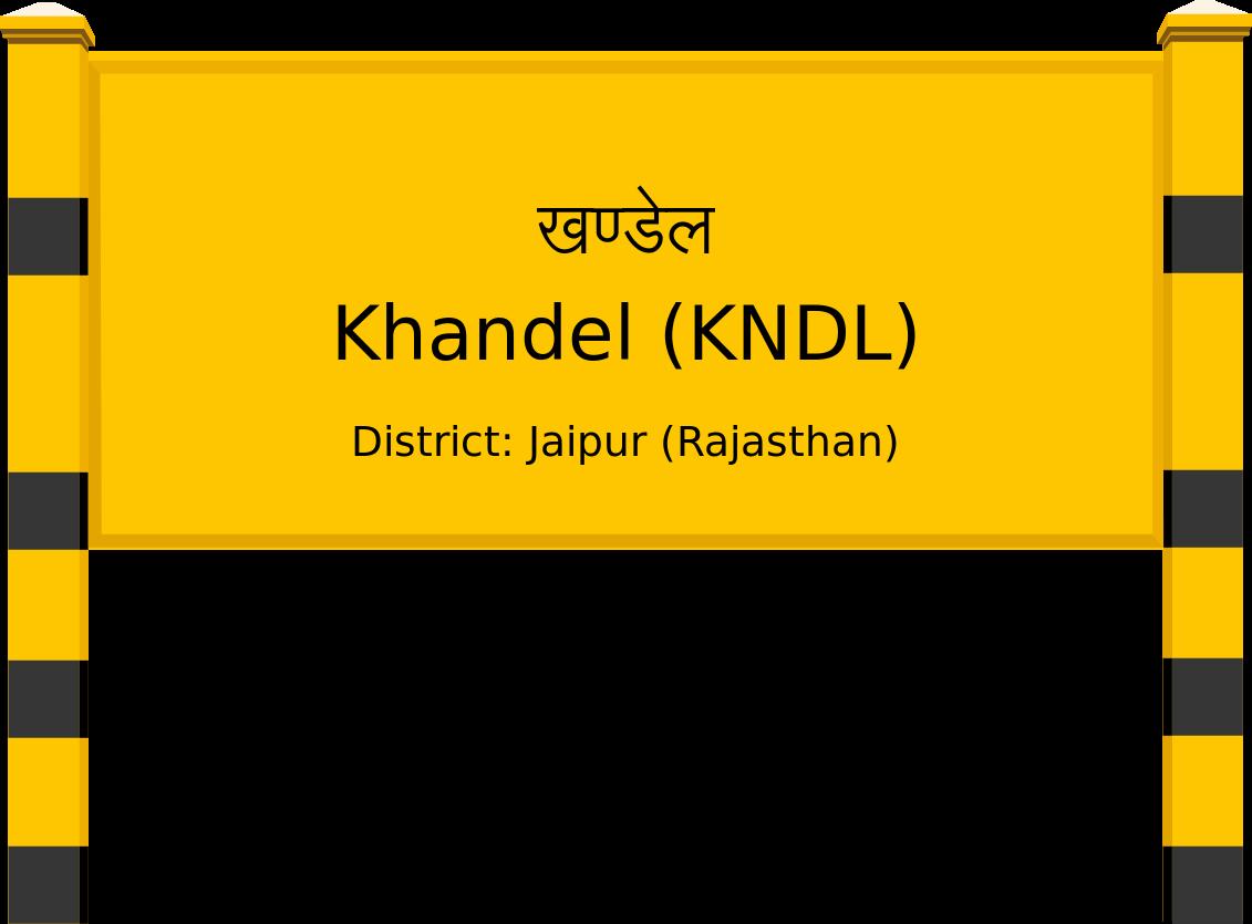Khandel (KNDL) Railway Station