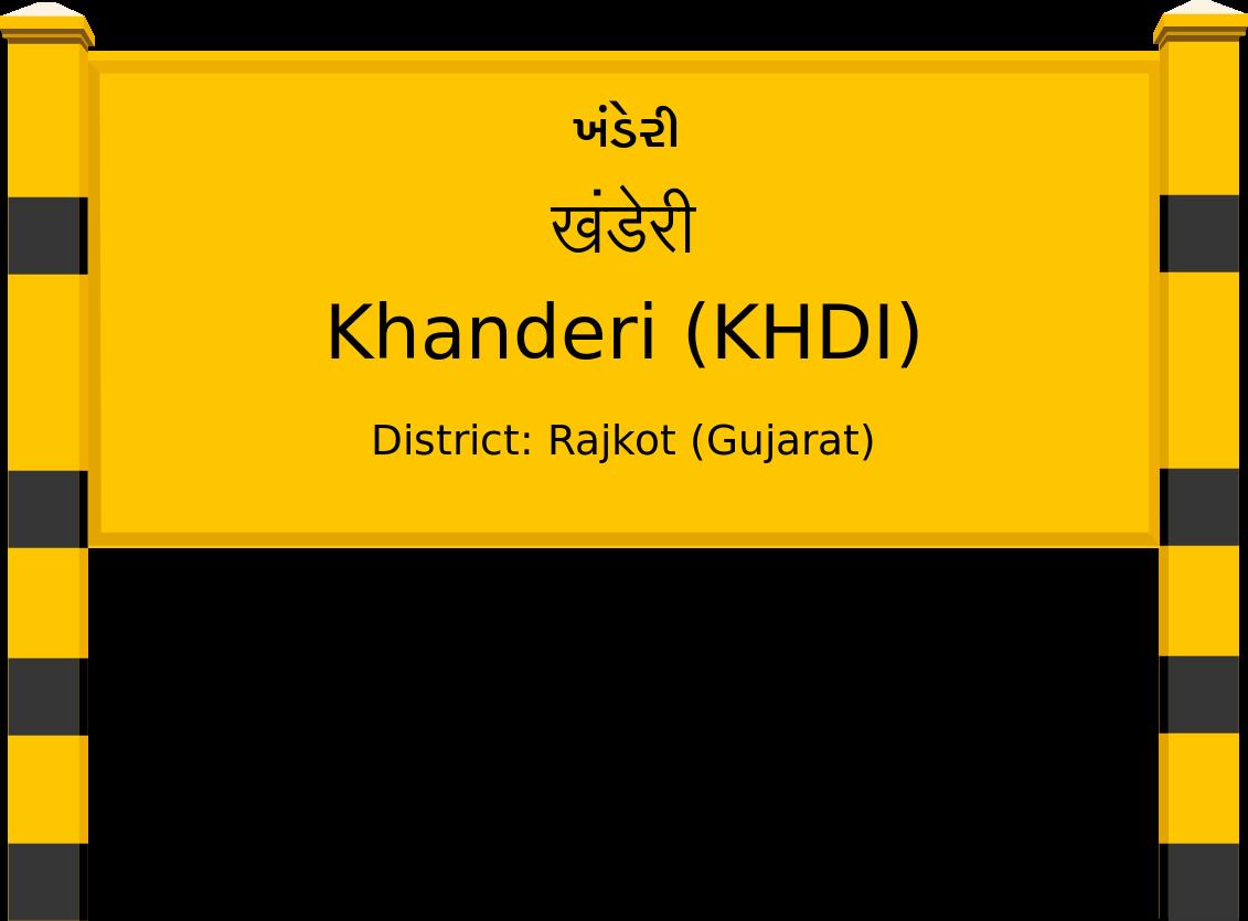 Khanderi (KHDI) Railway Station
