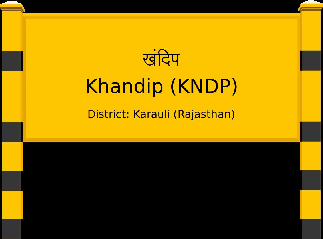 Khandip (KNDP) Railway Station