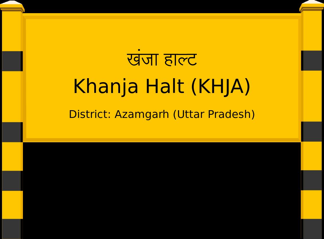 Khanja Halt (KHJA) Railway Station