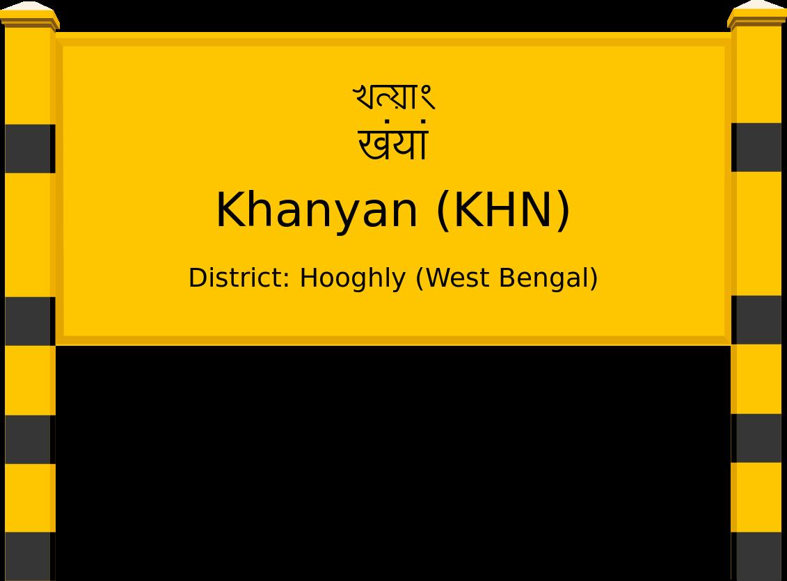 Khanyan (KHN) Railway Station