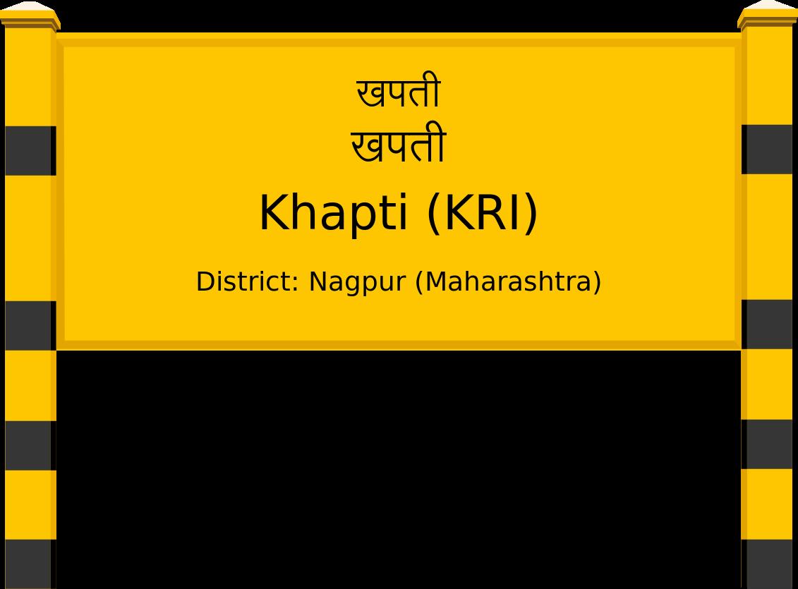 Khapti (KRI) Railway Station