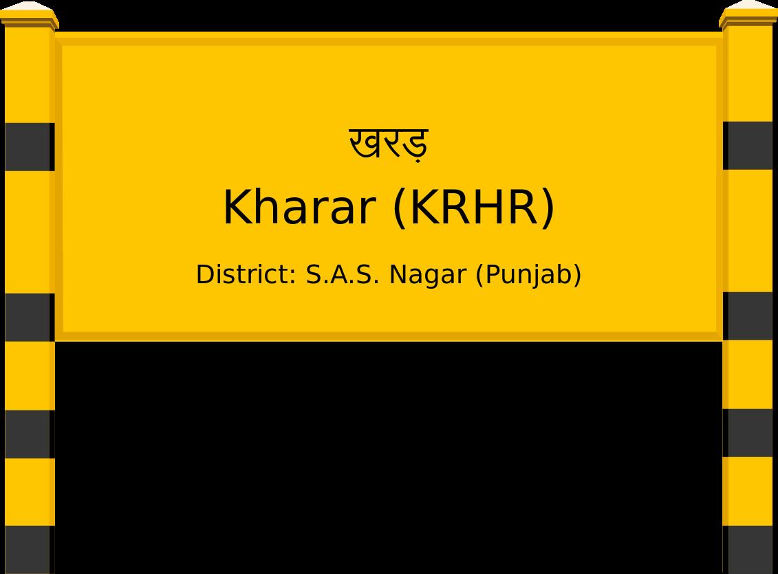 Kharar (KRHR) Railway Station