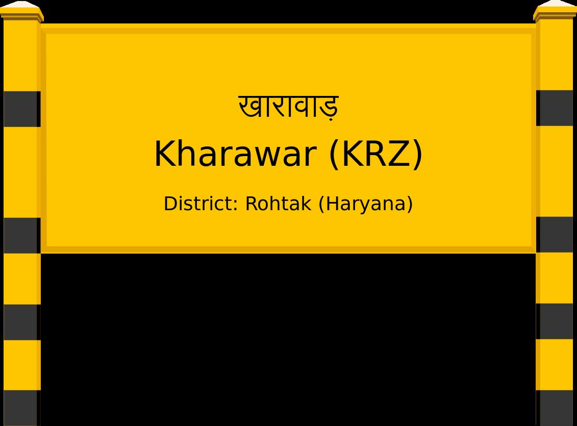 Kharawar (KRZ) Railway Station