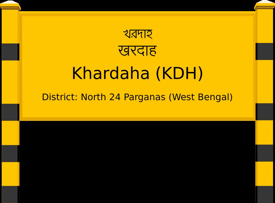 Khardaha (KDH) Railway Station