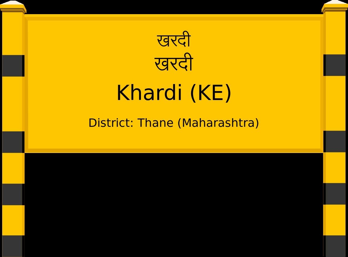 Khardi (KE) Railway Station