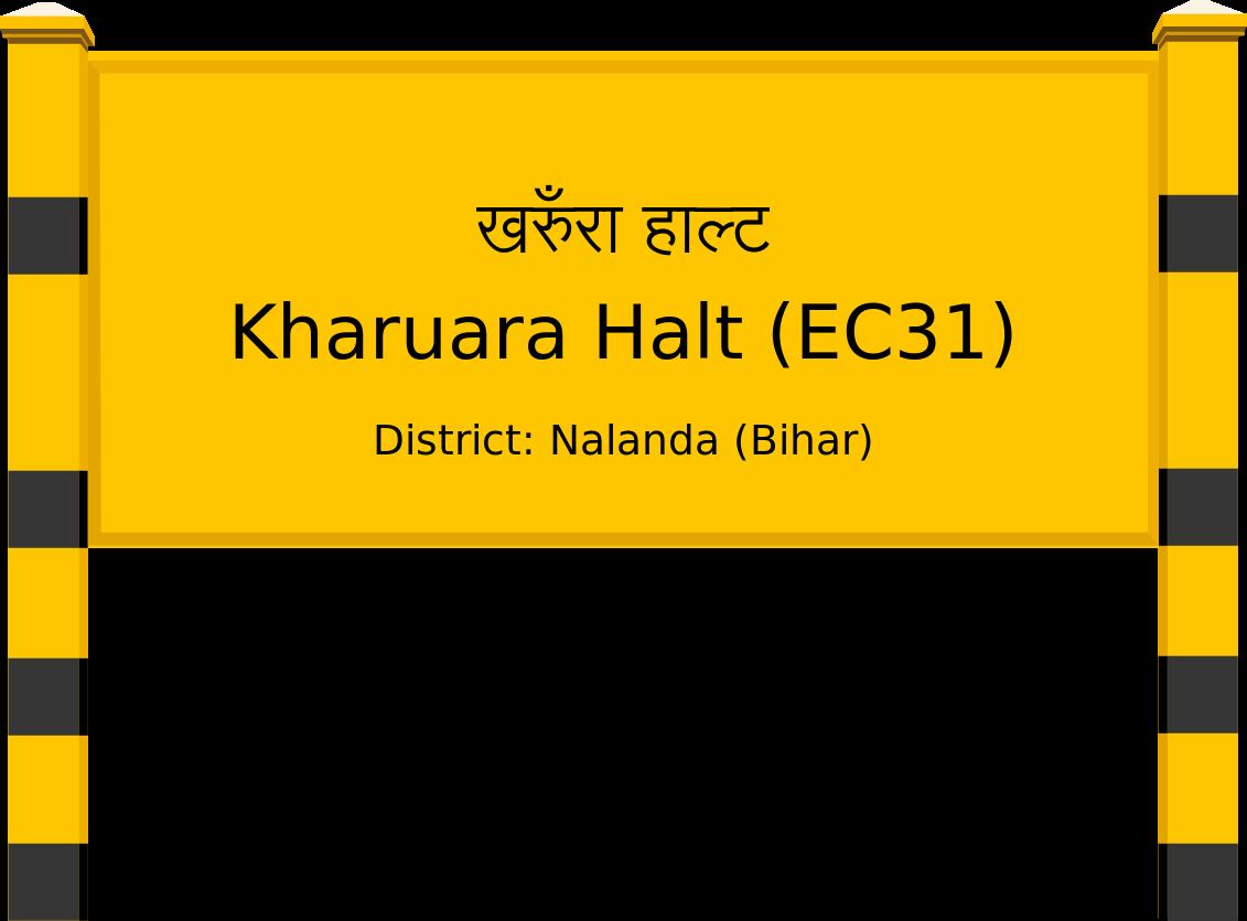 Kharuara Halt (EC31) Railway Station