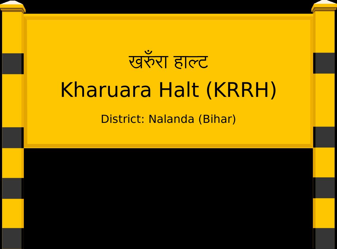Kharuara Halt (KRRH) Railway Station