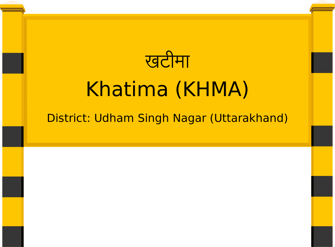 Khatima (KHMA) Railway Station