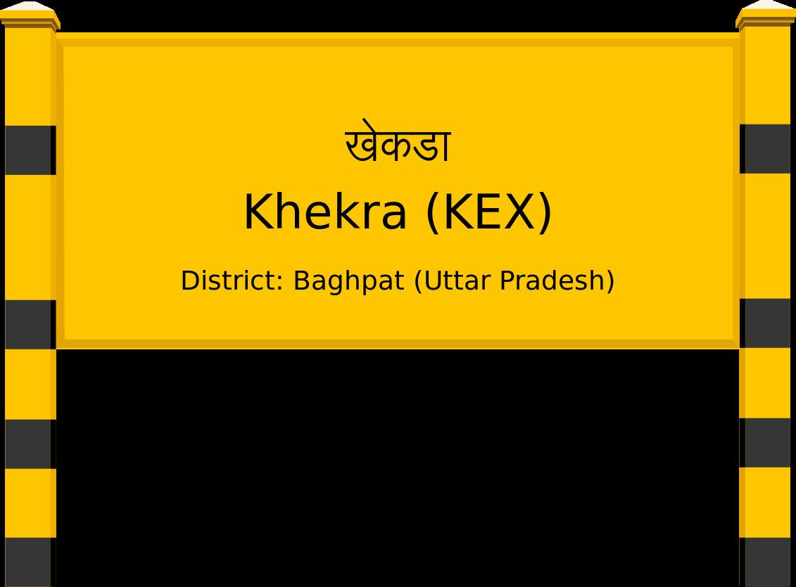 Khekra (KEX) Railway Station