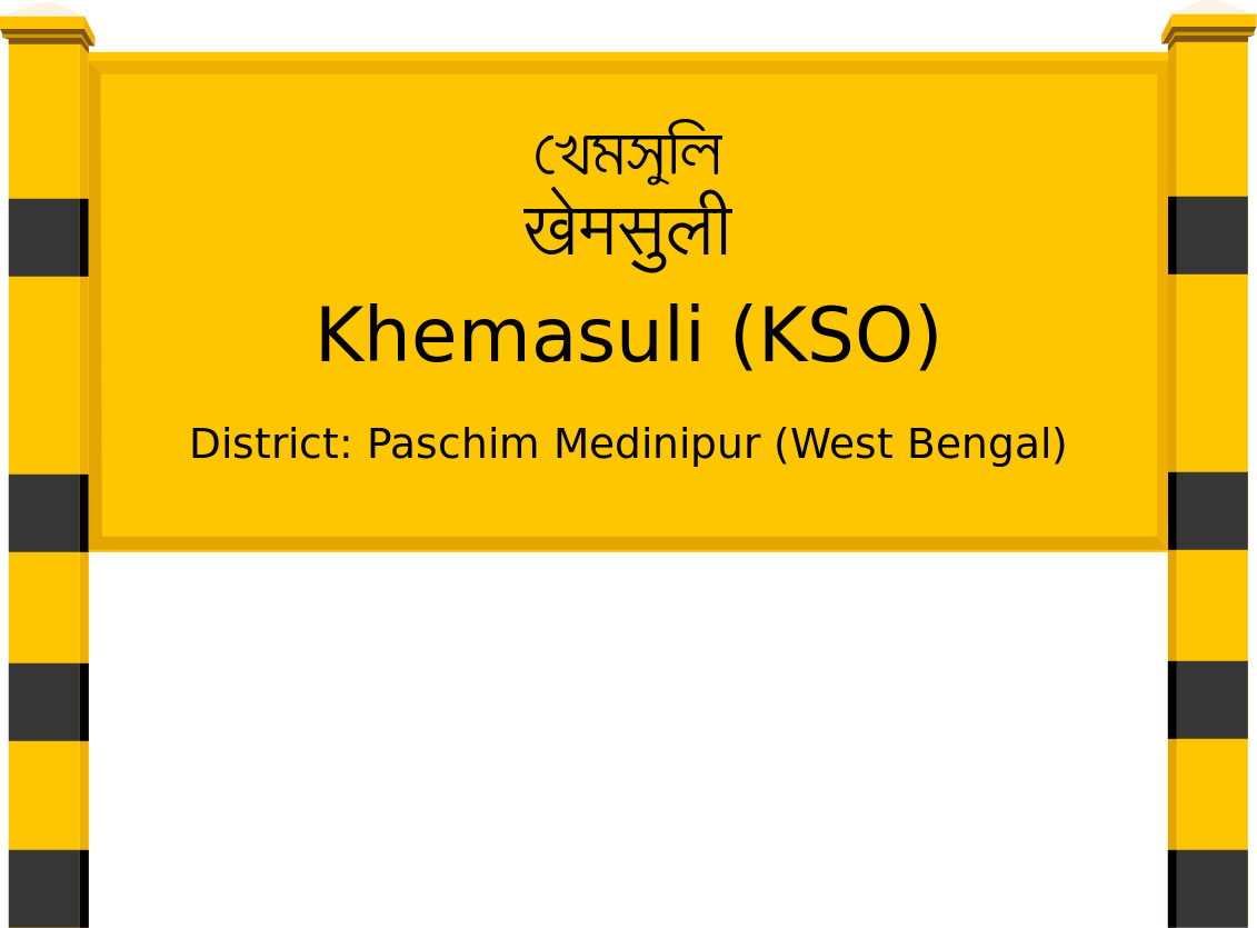 Khemasuli (KSO) Railway Station