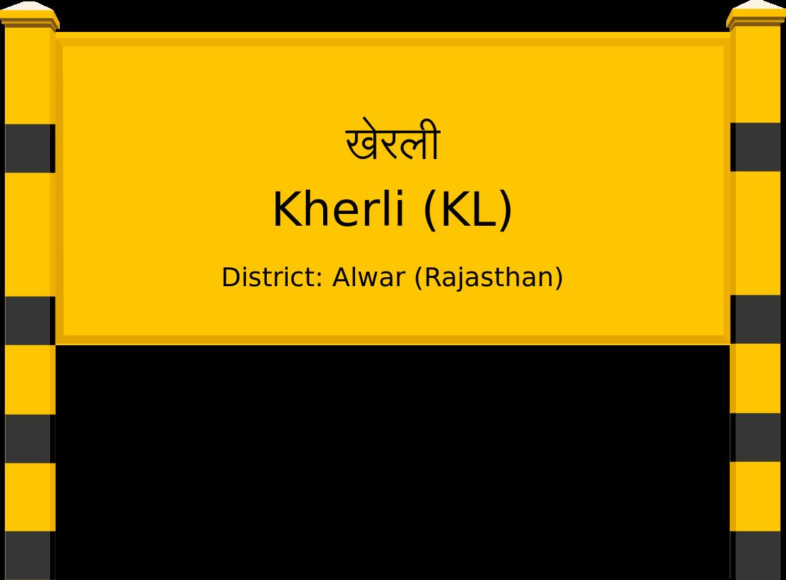 Kherli (KL) Railway Station
