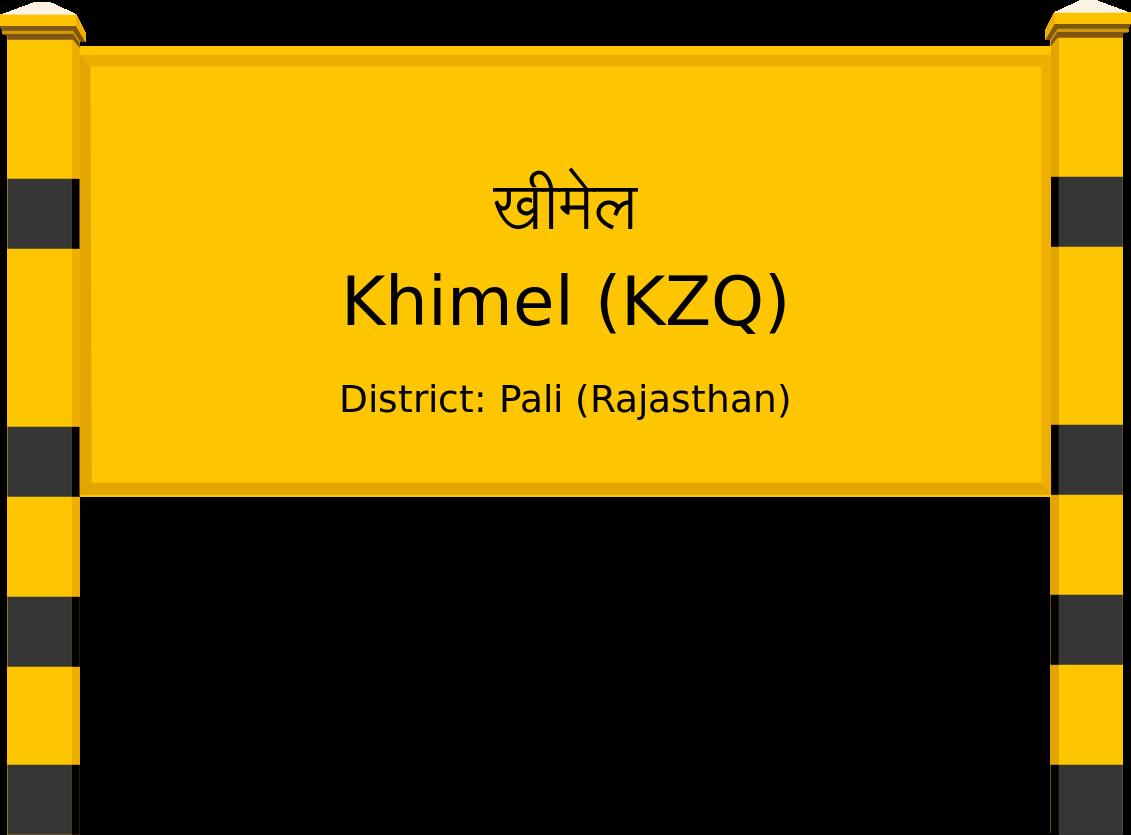 Khimel (KZQ) Railway Station