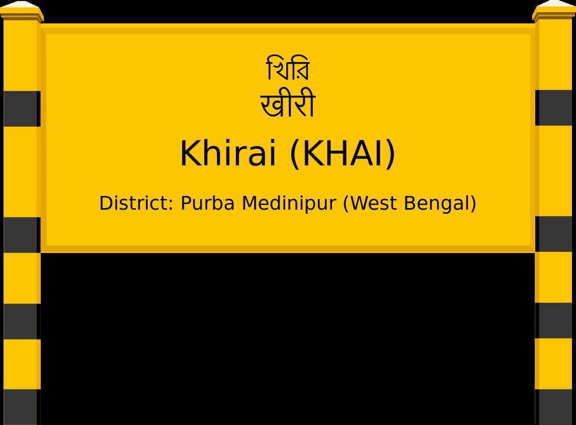Khirai (KHAI) Railway Station