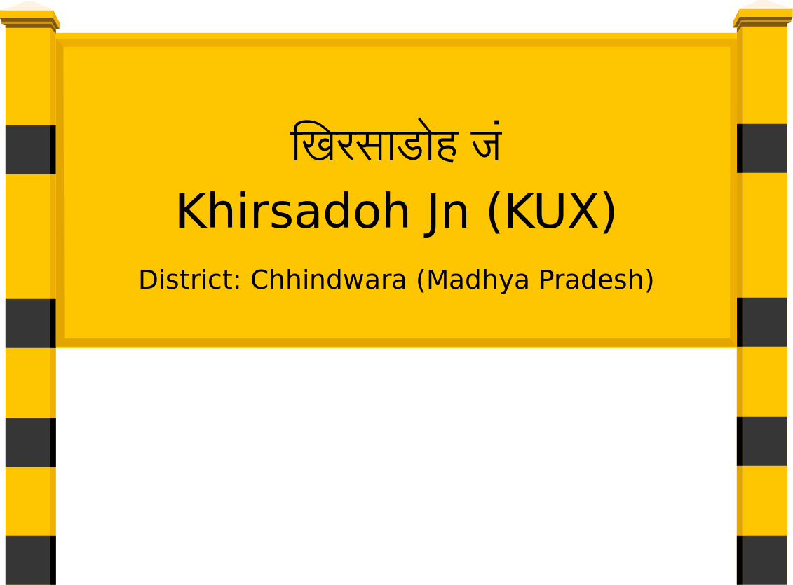 Khirsadoh Jn (KUX) Railway Station