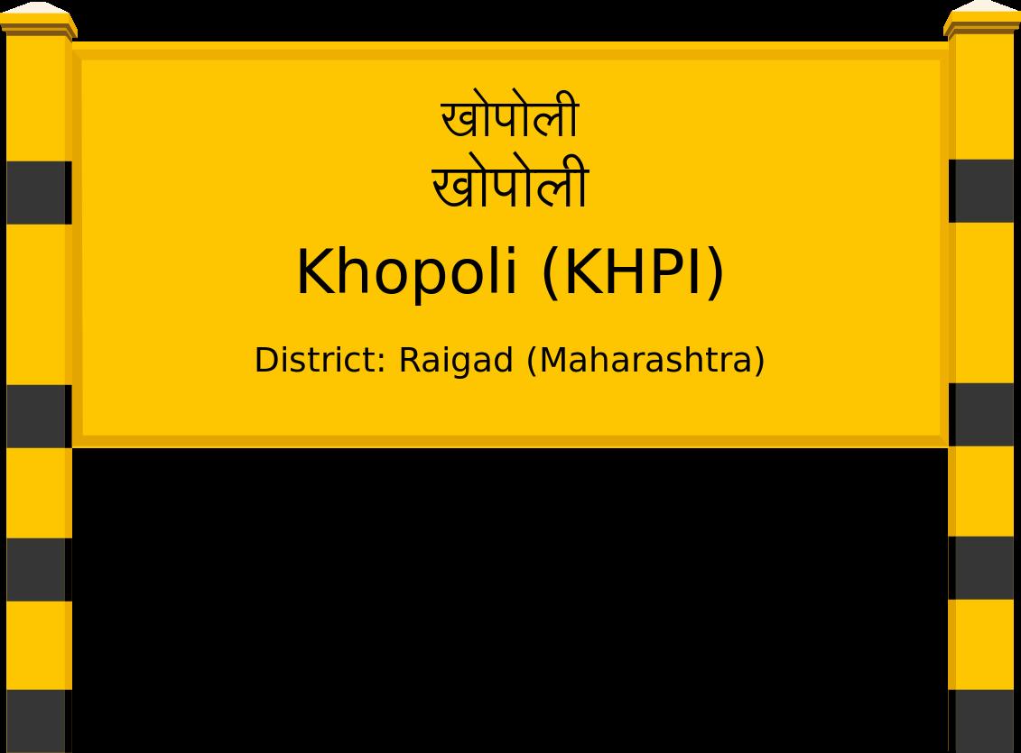 Khopoli (KHPI) Railway Station