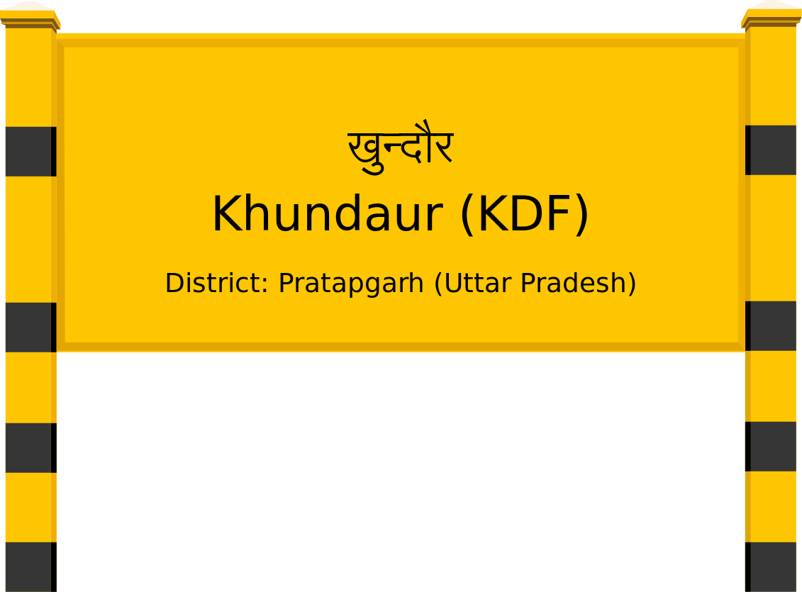 Khundaur (KDF) Railway Station