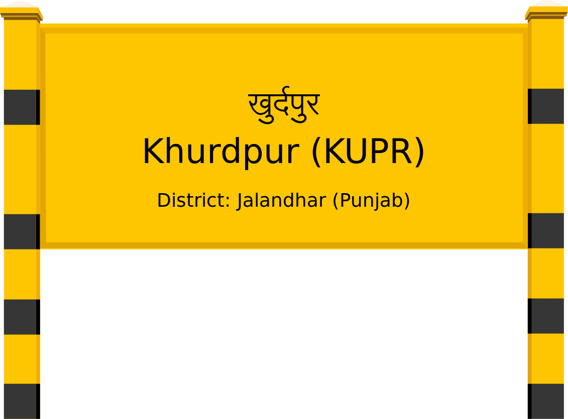Khurdpur (KUPR) Railway Station