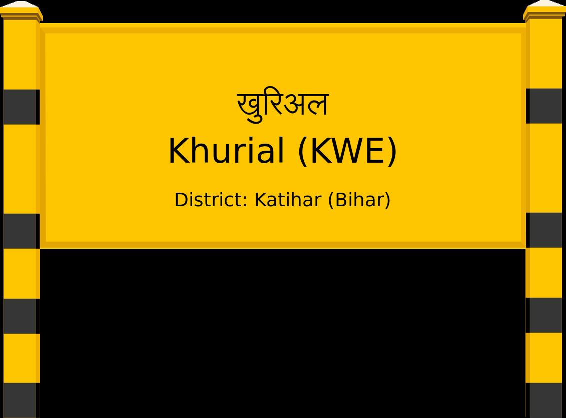 Khurial (KWE) Railway Station