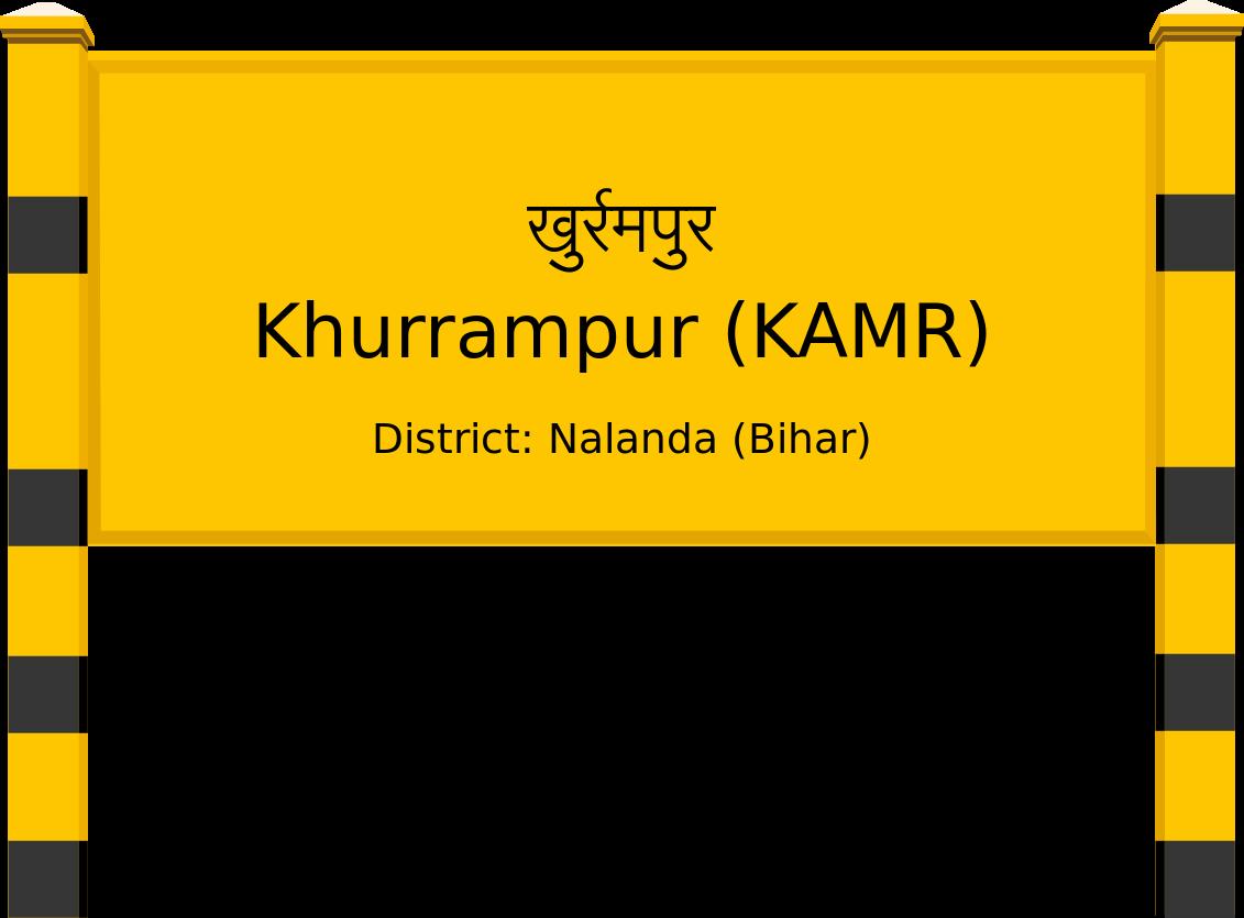 Khurrampur (KAMR) Railway Station