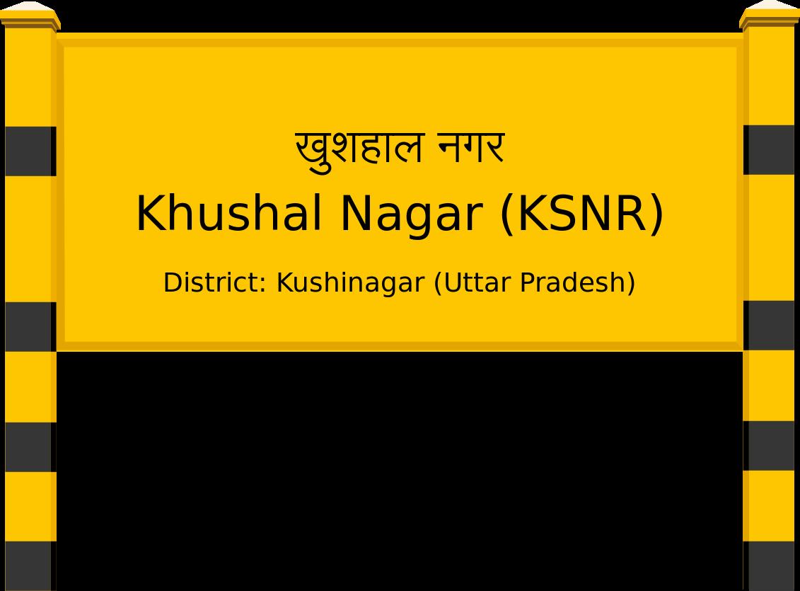 Khushal Nagar (KSNR) Railway Station