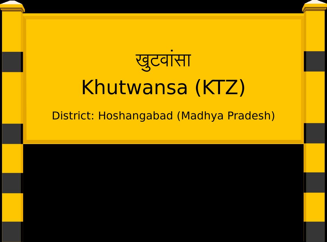 Khutwansa (KTZ) Railway Station