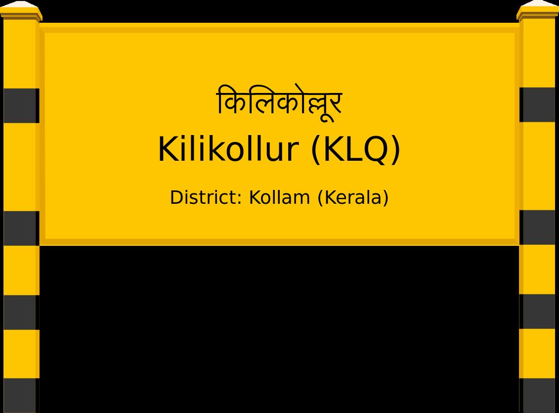 Kilikollur (KLQ) Railway Station