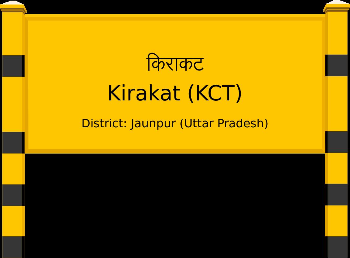 Kirakat (KCT) Railway Station