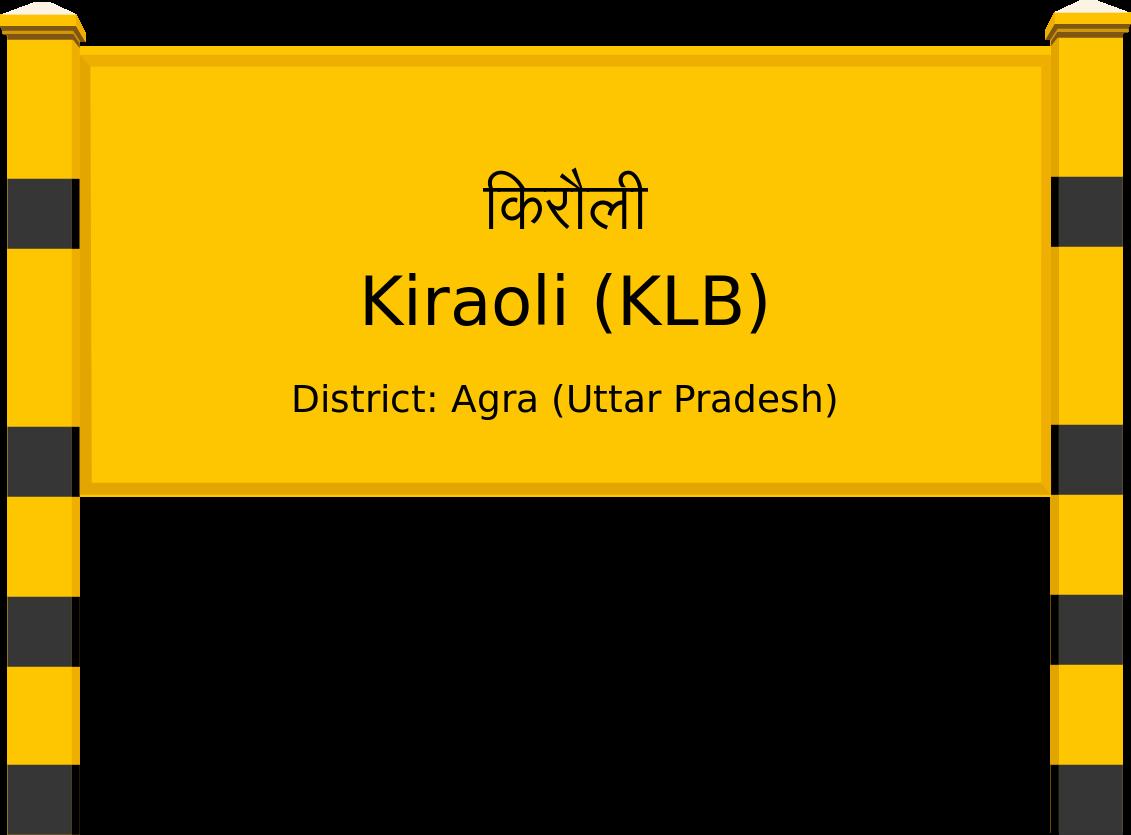 Kiraoli (KLB) Railway Station