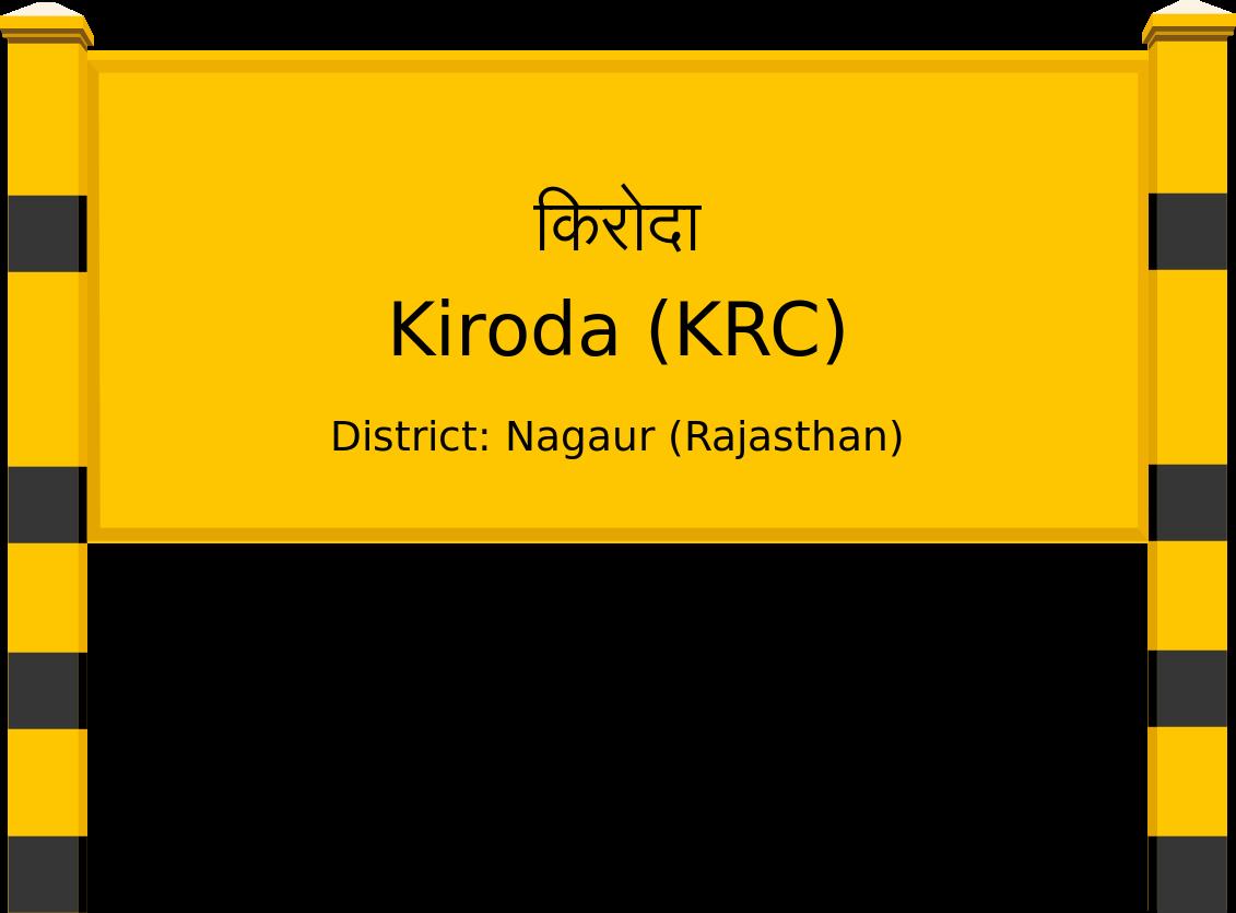 Kiroda (KRC) Railway Station