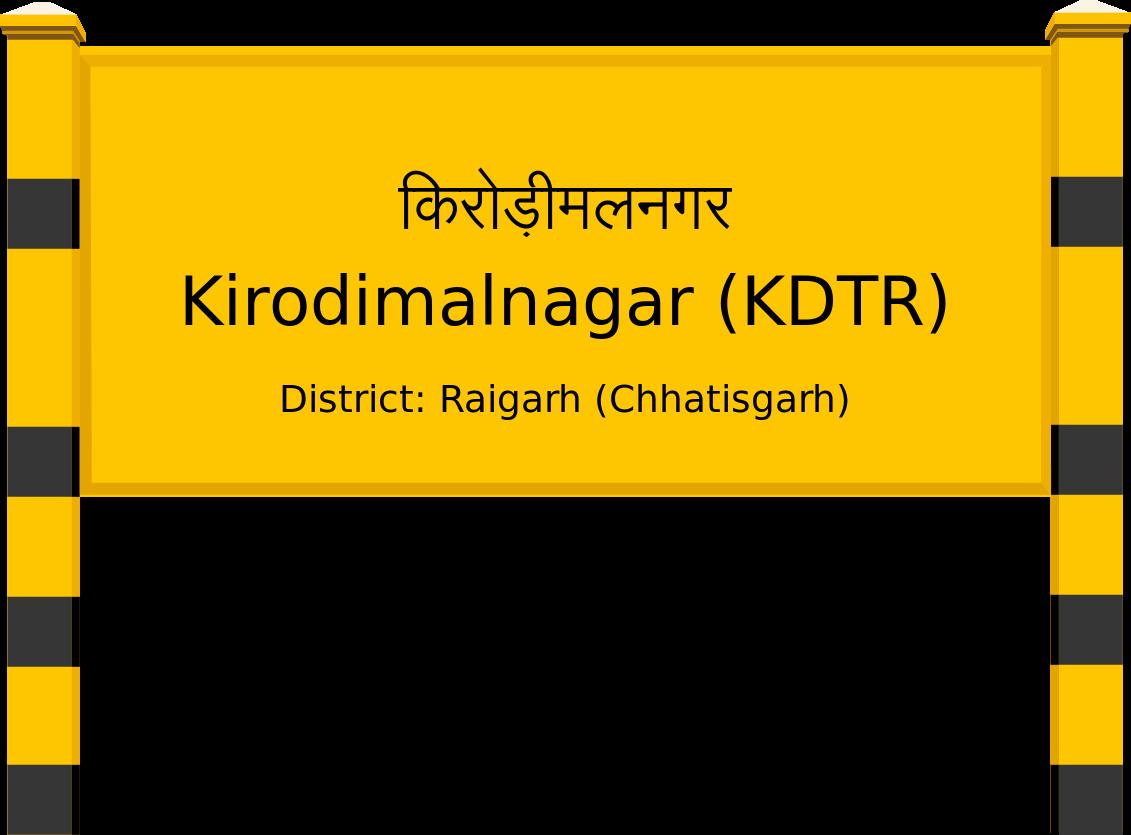 Kirodimalnagar (KDTR) Railway Station
