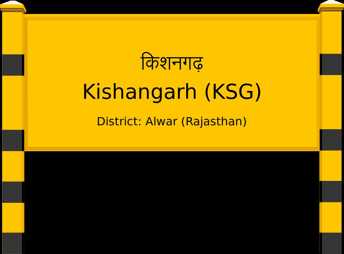 Kishangarh (KSG) Railway Station