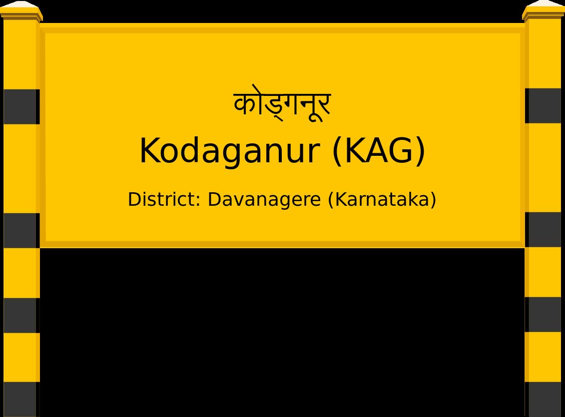 Kodaganur (KAG) Railway Station