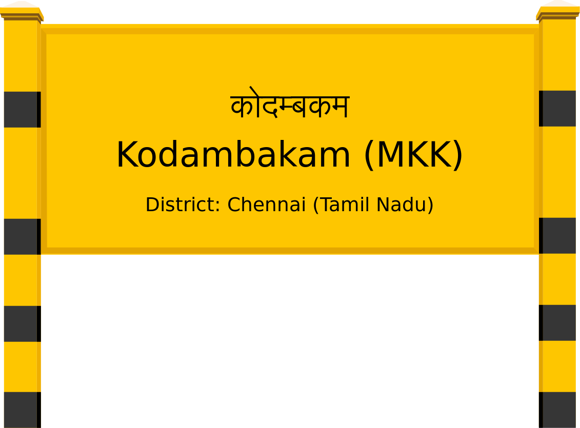 Kodambakam (MKK) Railway Station