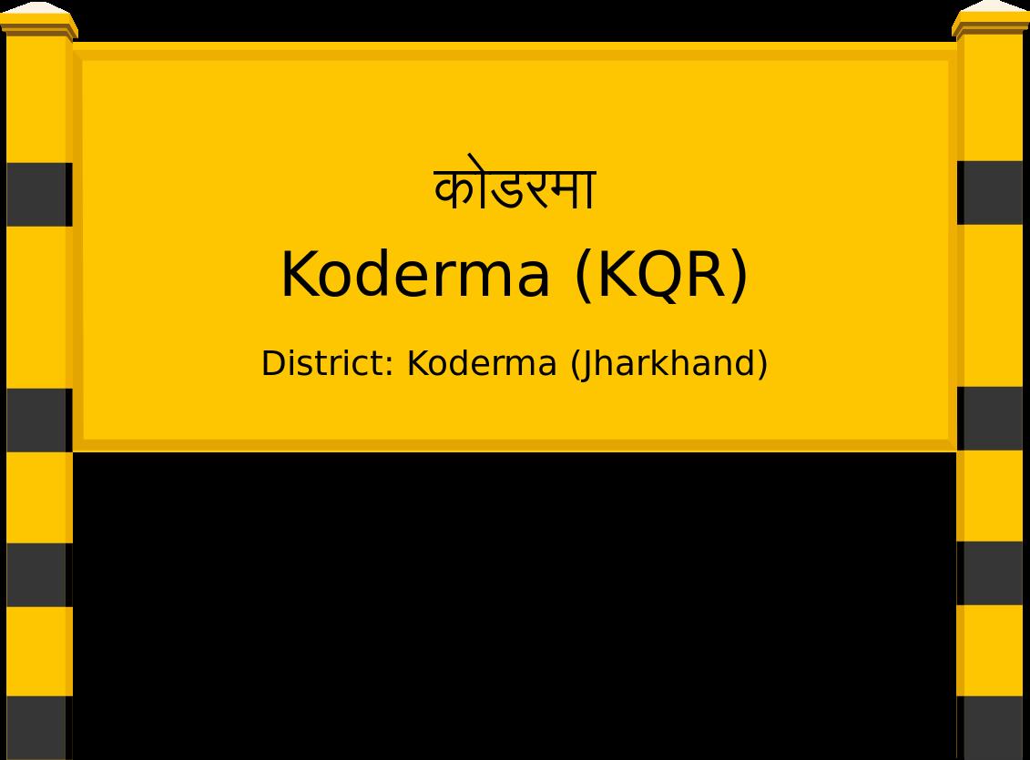Koderma (KQR) Railway Station