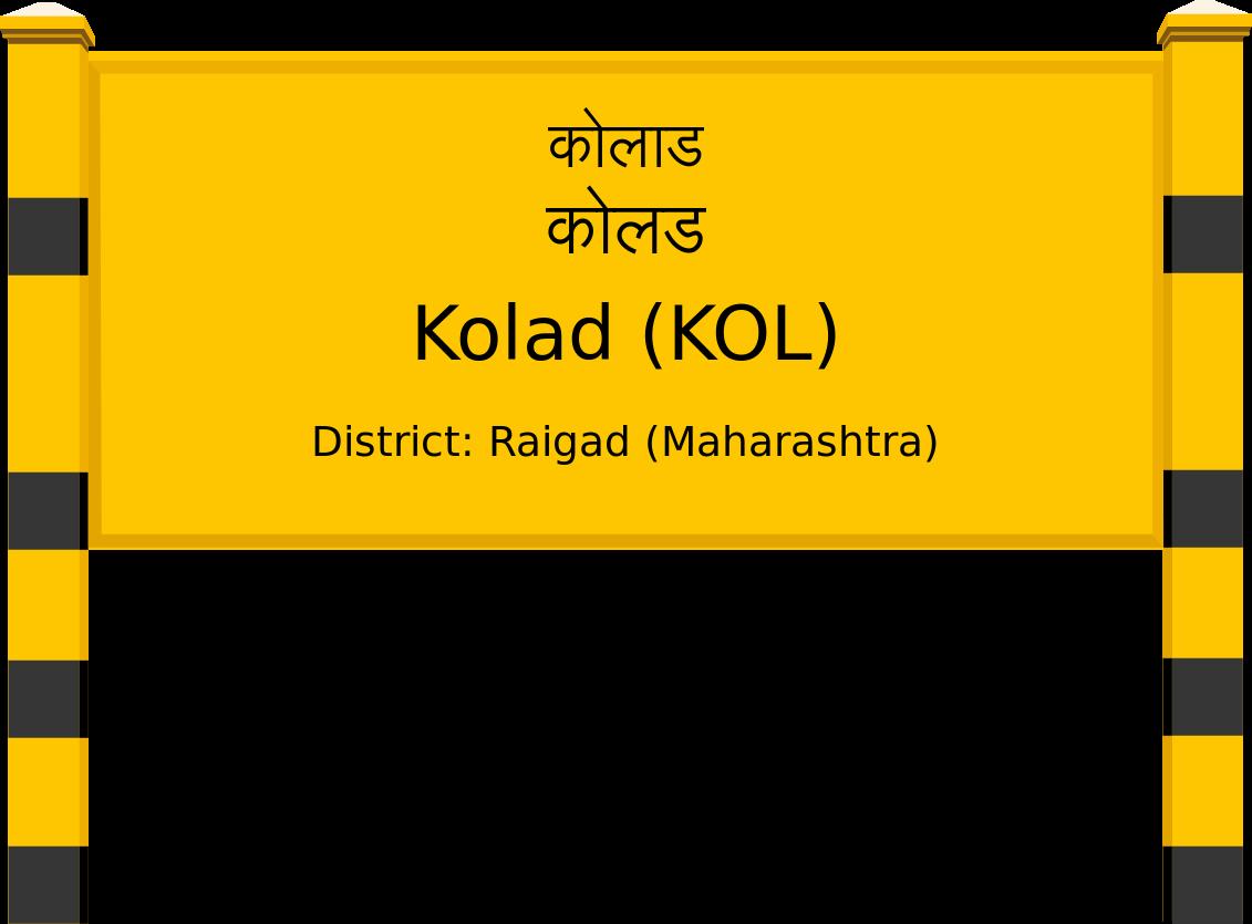 Kolad (KOL) Railway Station