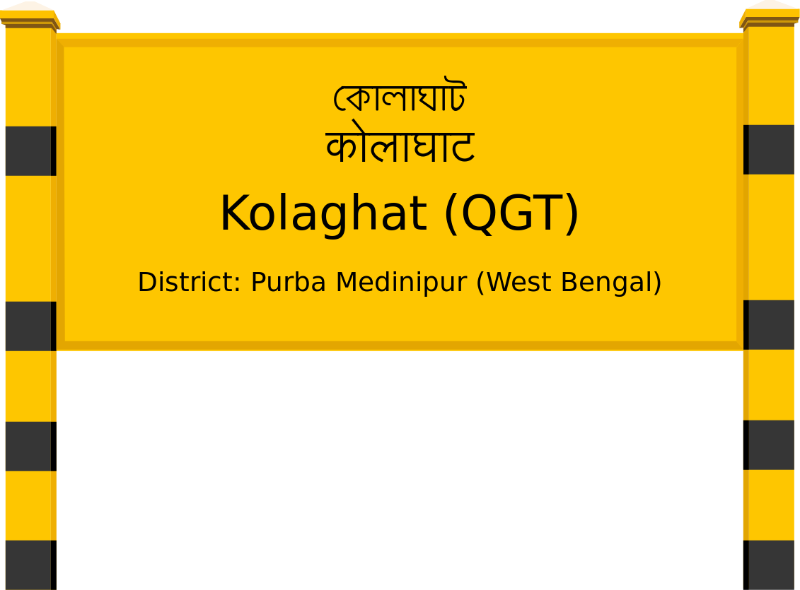Kolaghat (QGT) Railway Station