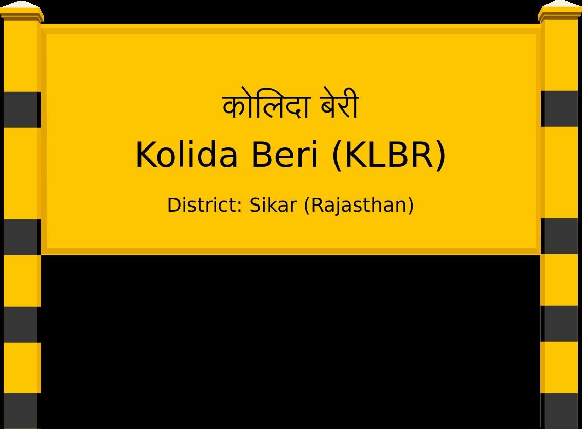 Kolida Beri (KLBR) Railway Station
