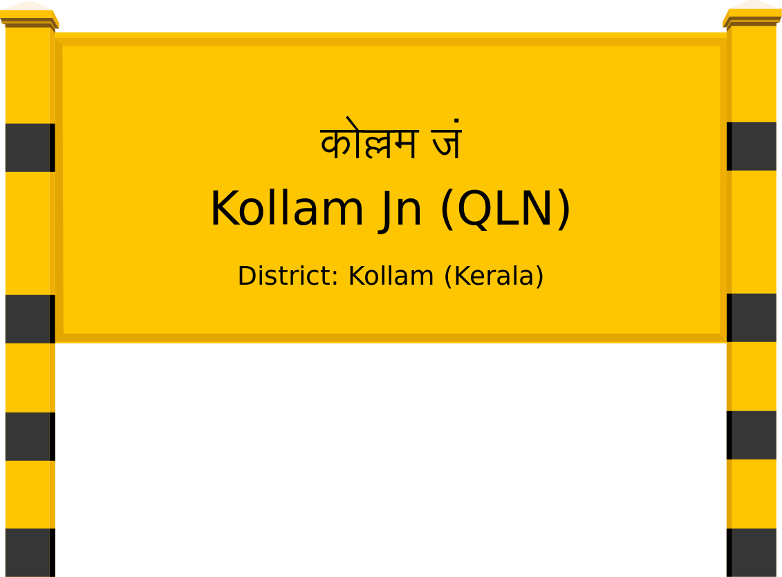 Kollam Jn (QLN) Railway Station