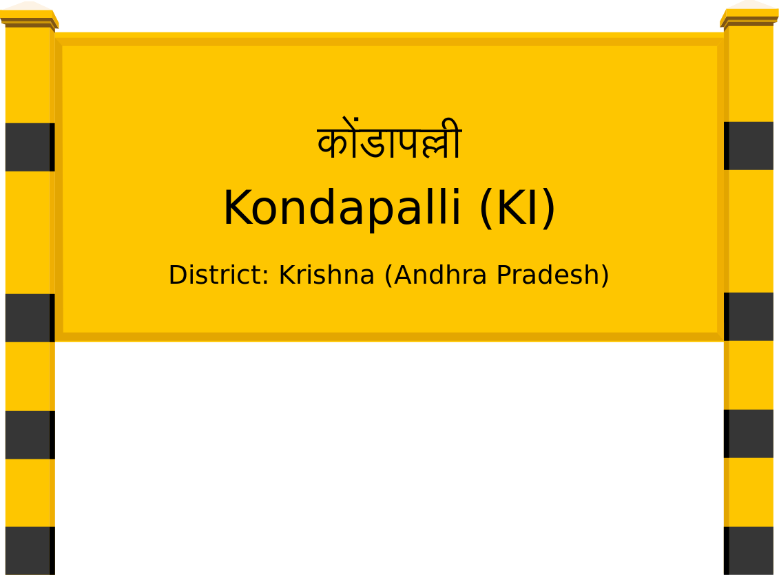 Kondapalli (KI) Railway Station