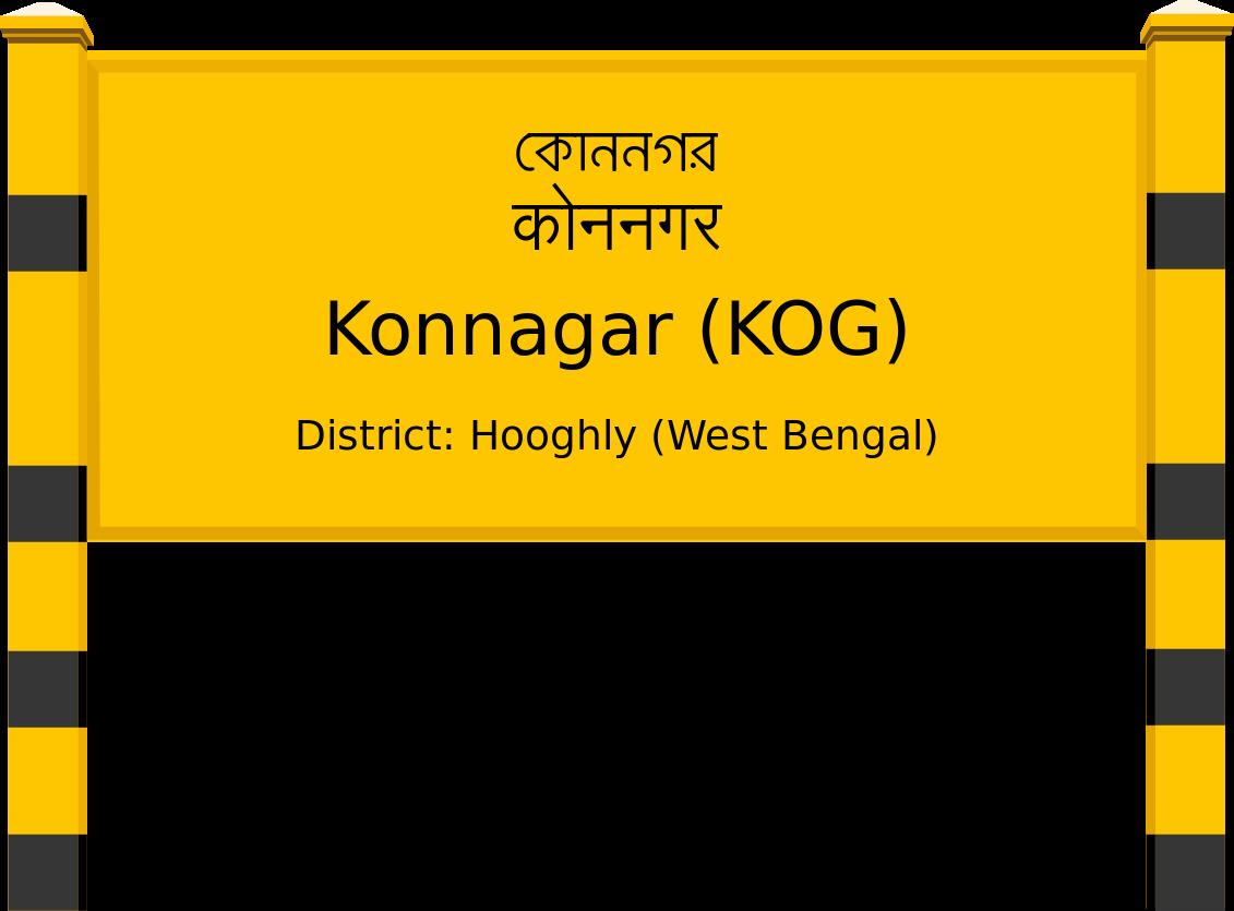 Konnagar (KOG) Railway Station