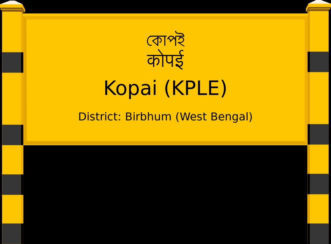Kopai (KPLE) Railway Station