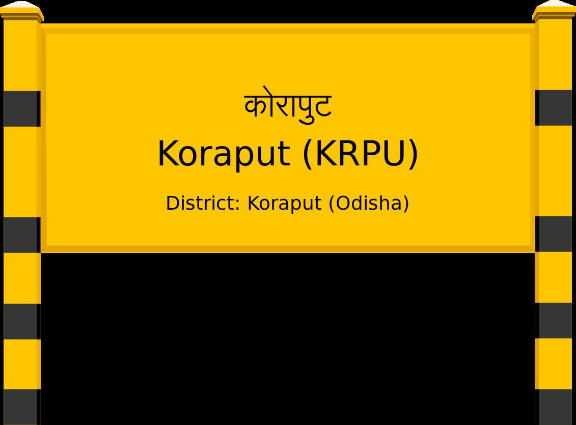 Koraput (KRPU) Railway Station