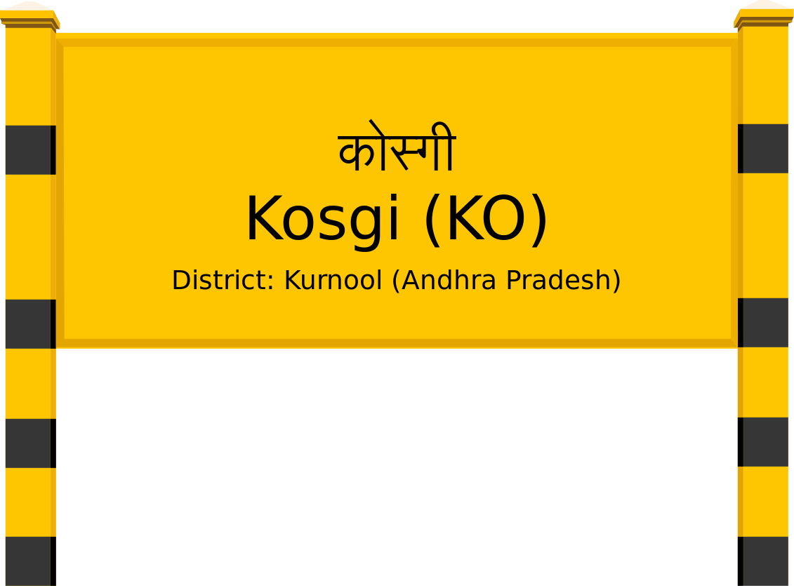 Kosgi (KO) Railway Station