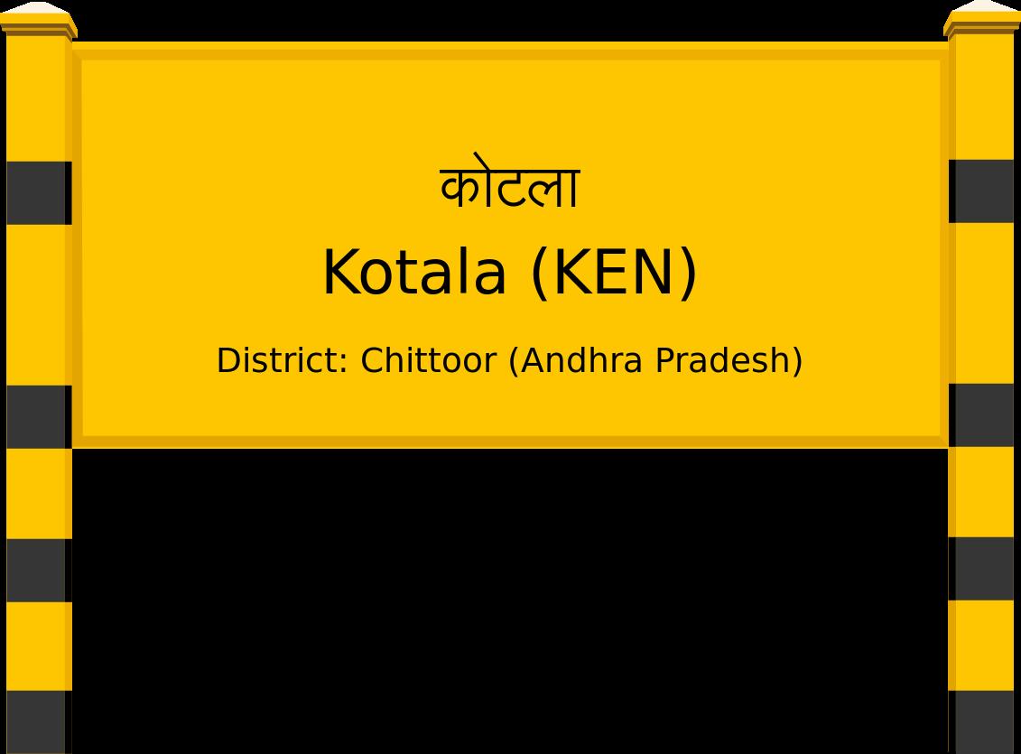 Kotala (KEN) Railway Station