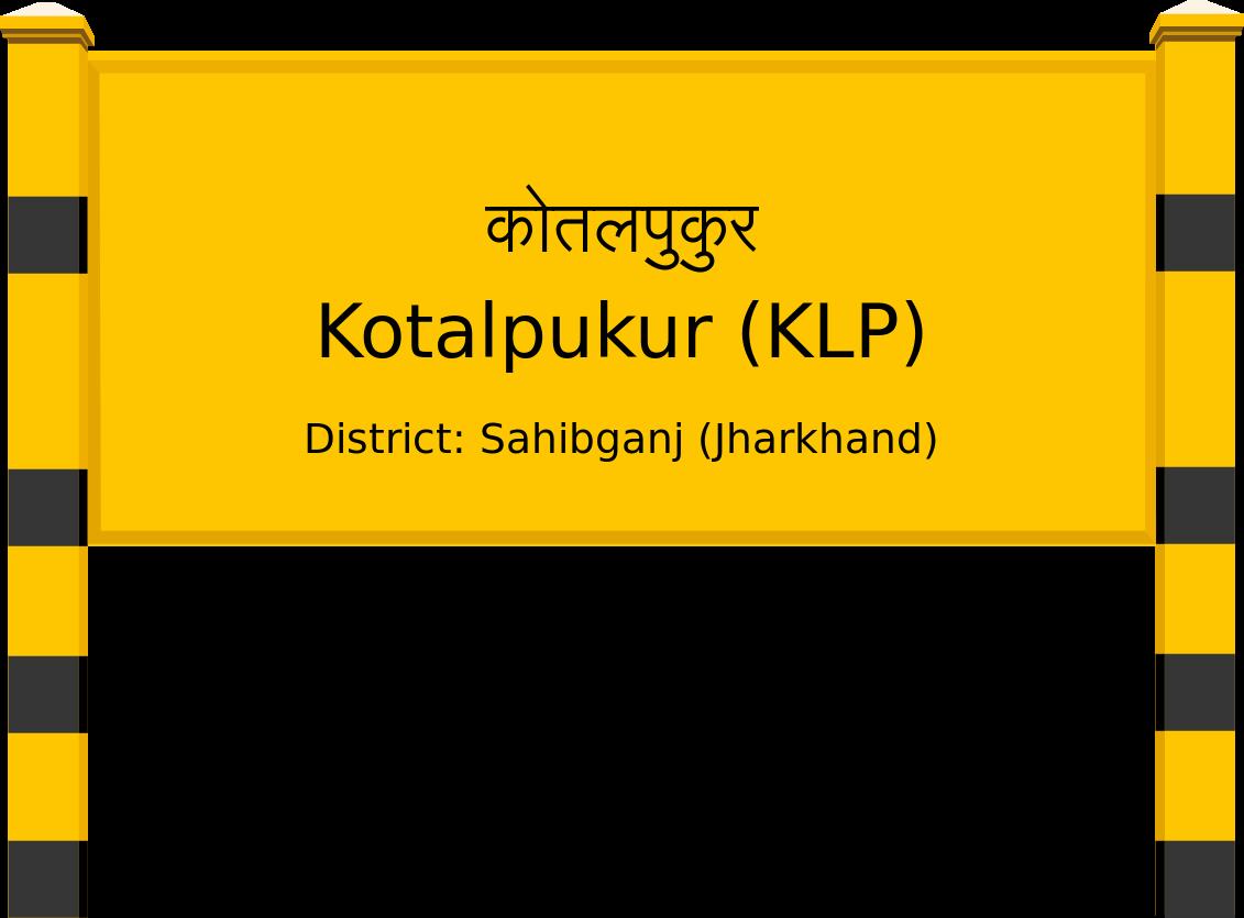 Kotalpukur (KLP) Railway Station