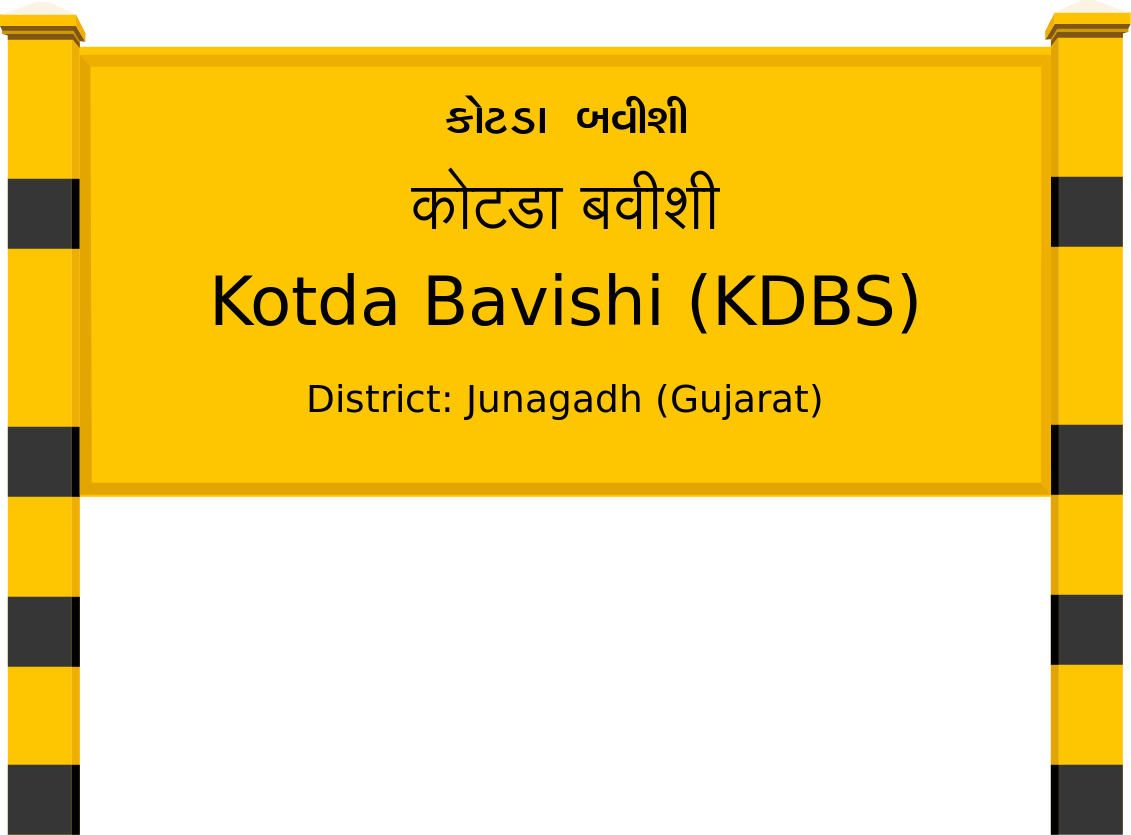 Kotda Bavishi (KDBS) Railway Station